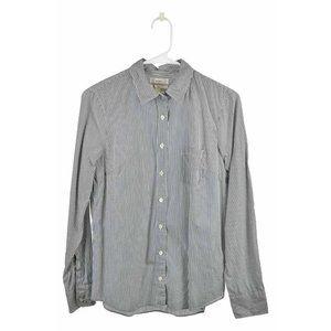 J.Crew Button Down Shirt 6 Blue